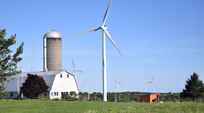 Rural America keeps farming the wind