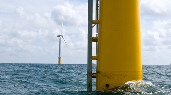 Falling offshore wind energy costs may lead to increased capacity
