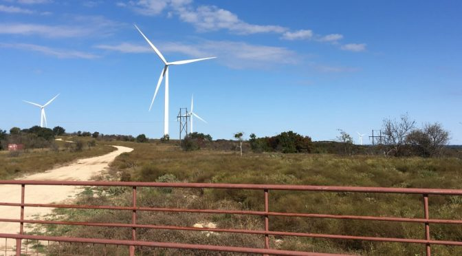 Three surprising facts about modern Texas wind farms