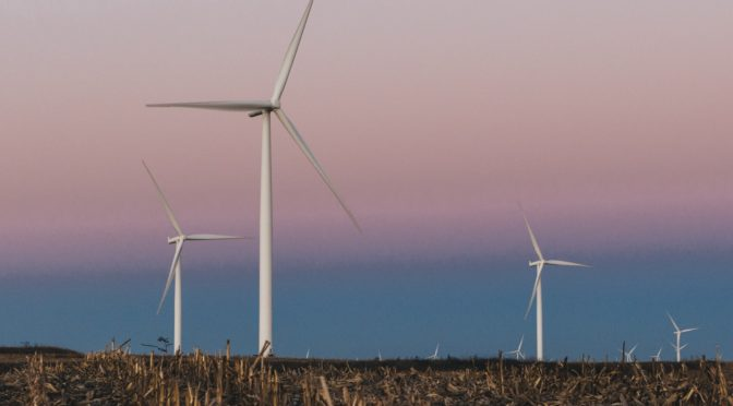 Which states make buying wind power easy for big brands?