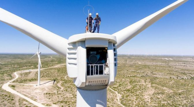BP considers upgrade of U.S. 200 wind turbines