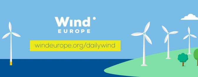 WindEurope launches Daily Wind Power Numbers