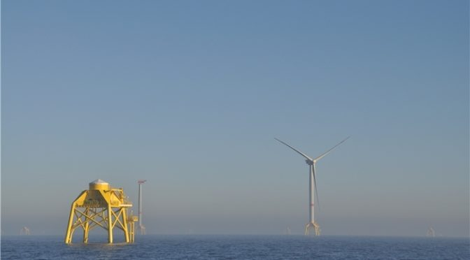 Iberdrola installs the first wind turbine in the Wikinger offshore wind farm (Germany)