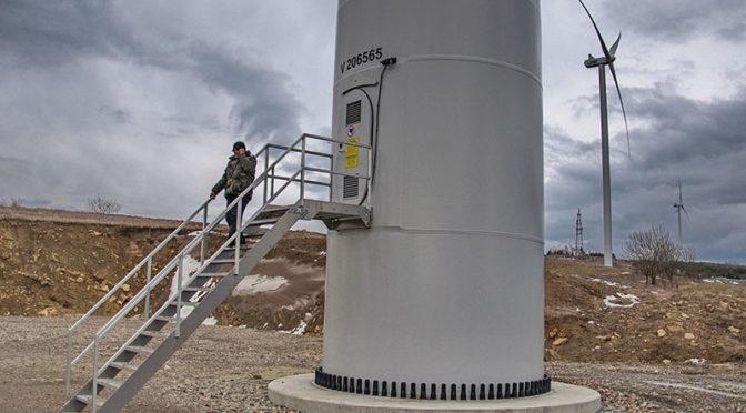 Wind energy powering up in western Ukraine