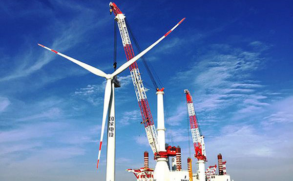 China on track to build world's largest offshore wind farm