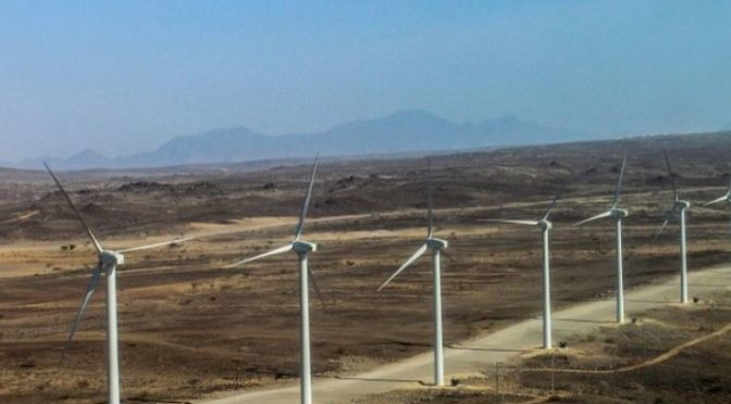 Construction of the Lake Turkana wind farm to be complete in two months