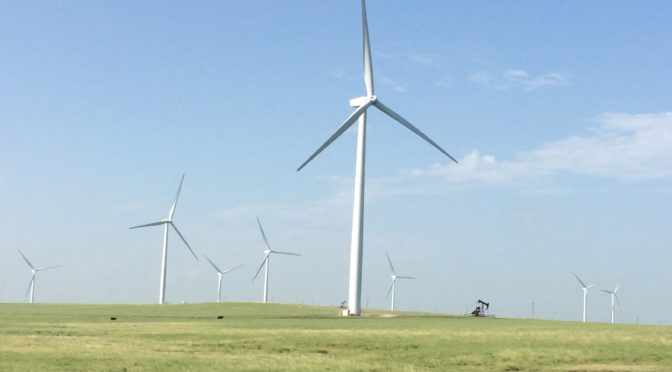 Wind power offers new opportunities in West Texas