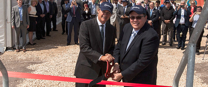 Acciona inaugurates its eight US wind farm in Texas