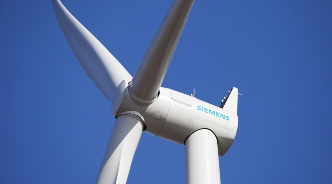 Siemens receives 270 MW wind power order from Australia
