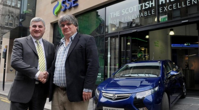 Scottish Energy Company Takes Delivery of Six Elec Cars Ampera