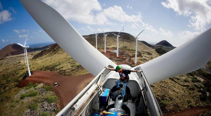 Wind turbines pose no threat to community