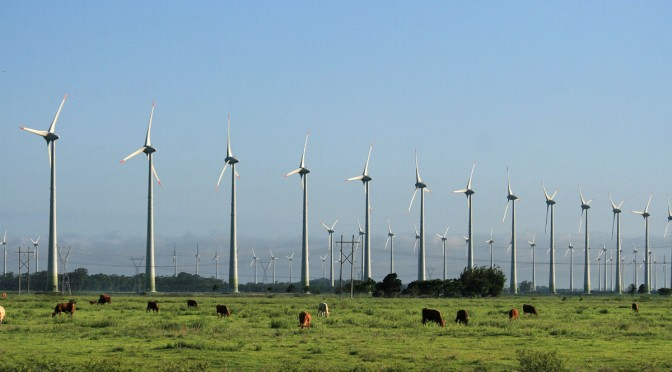 Wind power bonanza can improve our air quality