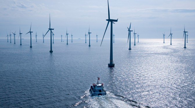 Offshore wind power: Iberdrola's wind farm with 80 wind turbines in Germany