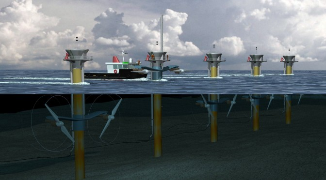 First U.S. Commercial, Grid-Connected Tidal Energy Project