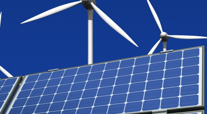 Photovoltaic solar energy and wind power in Australia