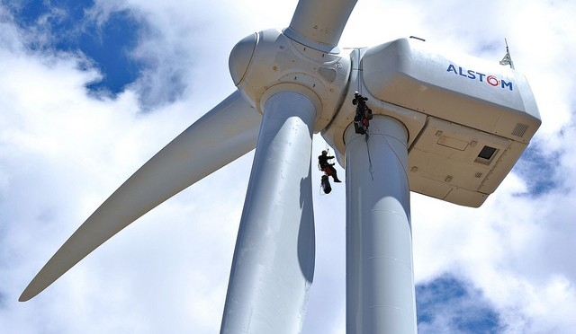 The first wind farm featuring high-yield ECO 110 wind turbines has been inaugurated in Brittany, France