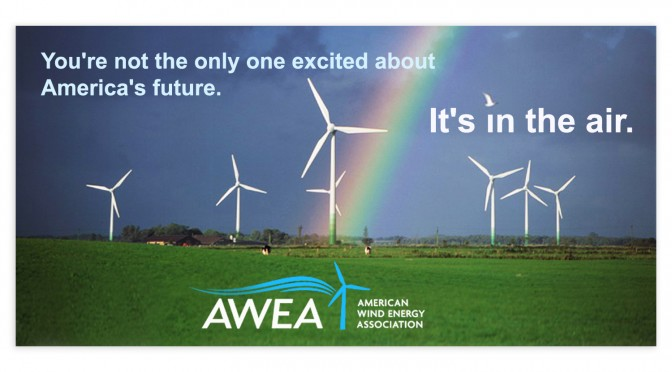 American Wind Energy Association endorses Michigan 25 by 25 campaign