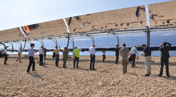 SKF solutions for solar tracking systems reduce CO2 emissions and increase solar power generation