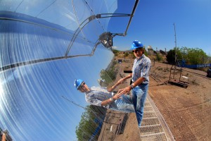 Concentrated Solar Power CSP solar thermal