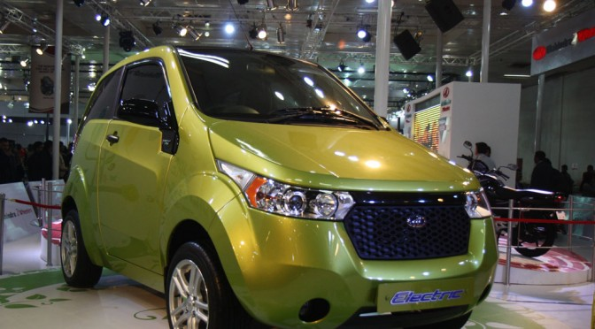 Mahindra Reva to roll out a handful of electric vehicles in India