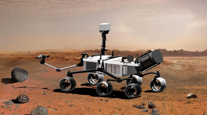 Lithium-ion batteries power Mars mission