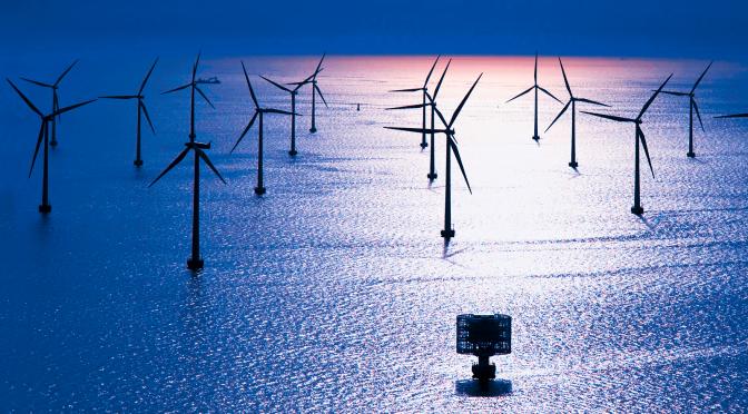 576 MW Gwynt y Môr Offshore Wind farm