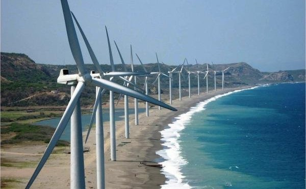 Wind energy in Philippines: Mindoro wind farm