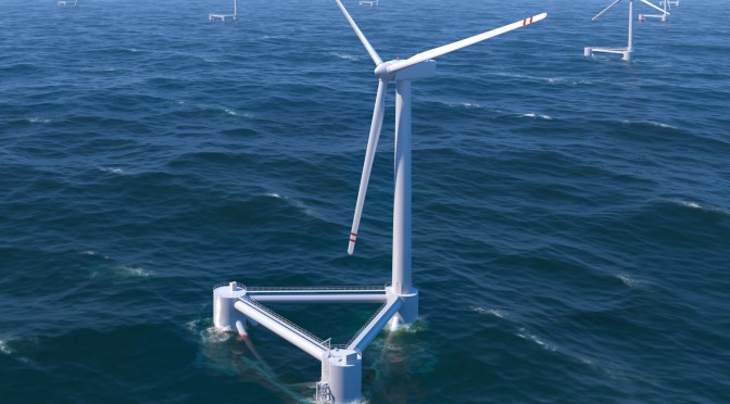 ENGIE, EDP Renewables, Caisse Des Dépôts and Eiffage Join to Respond to ADEME's Request for Proposals for A 'Pilot Floating Wind Farm'