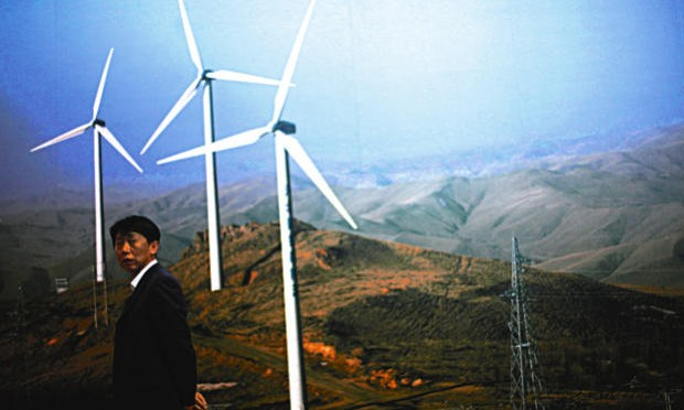 China is a world leader in renewable energies