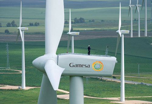 Gamesa deploys new wind turbine to Minnesota wind farm