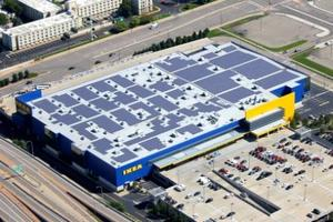 Minnesota's Largest Solar Array Now Plugged-In Atop IKEA Store
