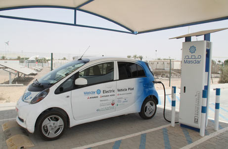 Abu Dhabi launches region's first rapid electric car charger