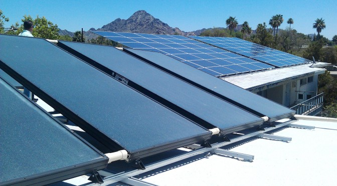 SunRenu Solar Implements A Dual Solar Technology Strategy With PV & Solar Thermal On Multifamily Properties In Arizona