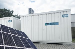 KIT Controls Fluctuation of Renewable Energies by Using Modern Storage Systems