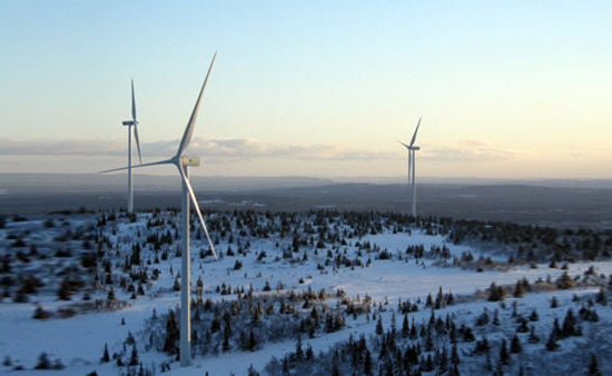 Google will buy wind energy generated by 29 wind turbines in Sweden