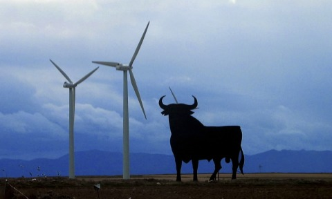 The wind energy produced 19,3% of of electricity in June in Spain