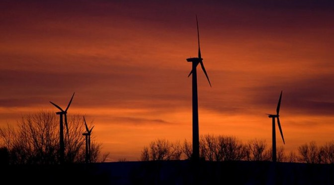 Wind energy can power the world, says two new studies