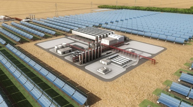 Masdar's Concentrated Solar Power Project