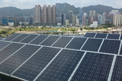 Global solar photovoltaic capacity passes 100 GW