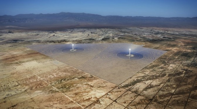 Abengoa And BrightSource Energy Partner To Build The World