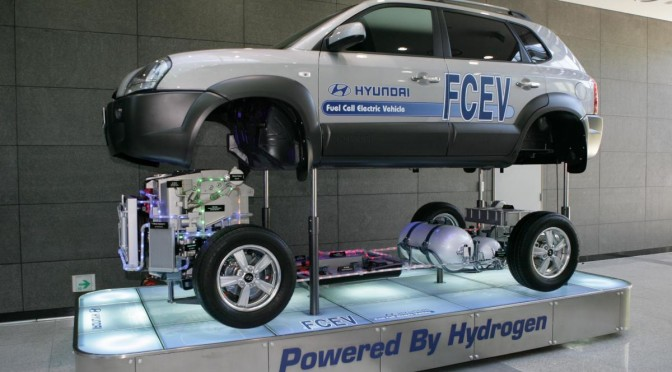 Hyundai to make world's first mass production of fuel cell cars