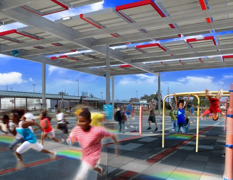 NRG Energy Brings Solar Power to New Orleans School