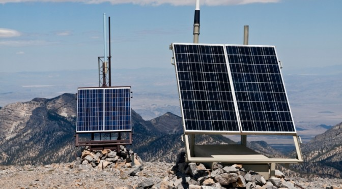 Off-Grid Power for Mobile Base Stations