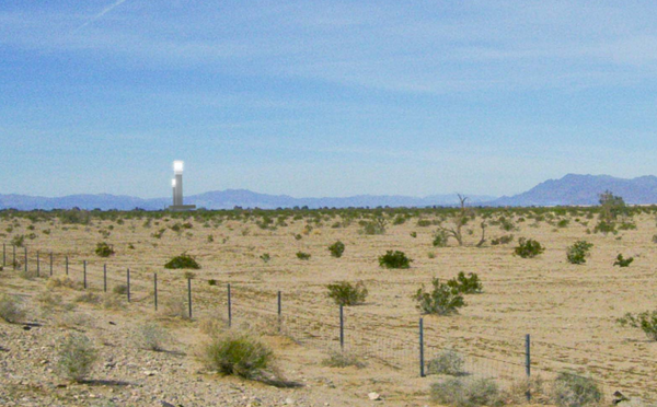 Palen Concentrated Solar Power (CSP) project cuts down the public land acreage by 572 acres
