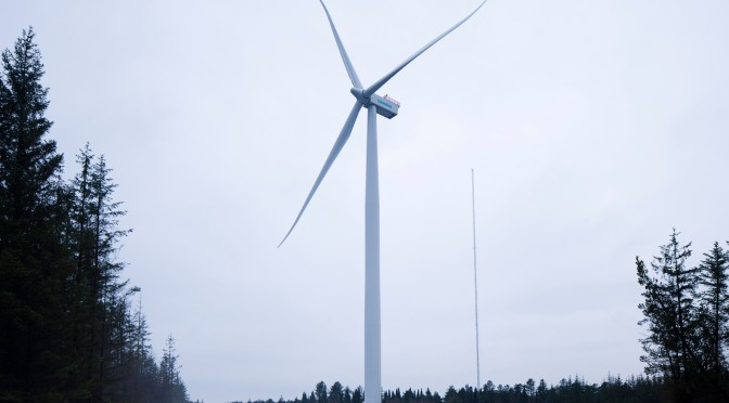 Wind farms creating new communities in Holland