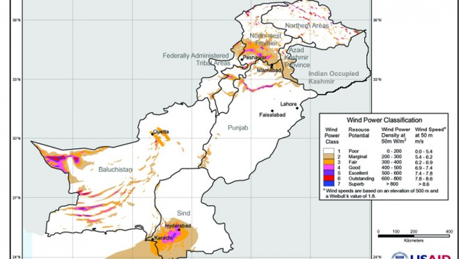 Wind energy in Pakistan: 30 wind power projects to generate 1760 MW