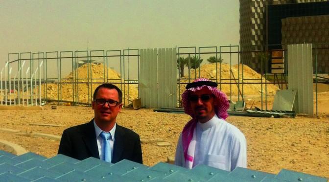 Desertec Foundation endorses King Saud University Point Focus Fresnel Collector