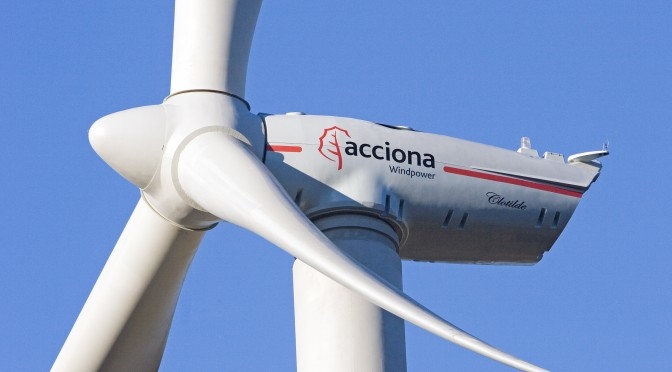 Acciona sells the owning company of an operating wind farm in South Korea