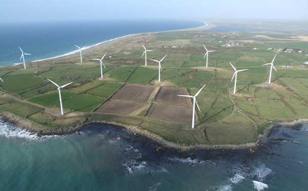 Ireland hits new record of wind energy production