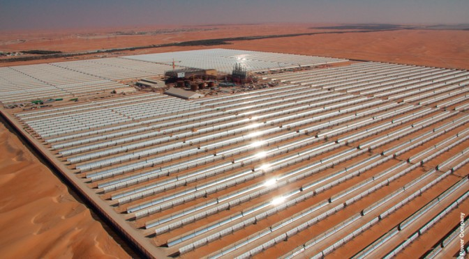 UAE pushes renewable energy abroad